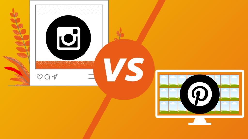 Wat is het verschil tussen Instagram en Pinterest?